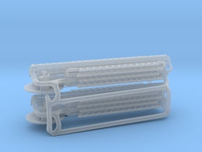 Seagrave ladders 1:160 in Smooth Fine Detail Plastic
