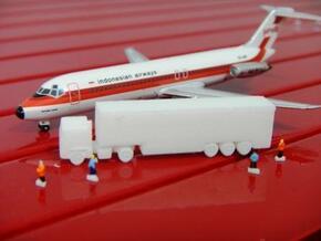 Airport GSE 1:400 Truck Trailer  in White Processed Versatile Plastic