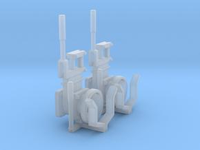 2 Guelleschieber / Kupplungen 1:32 in Smooth Fine Detail Plastic