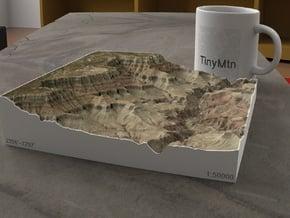 South Rim Grand Canyon, Arizona, 1:50000 Explorer in Full Color Sandstone