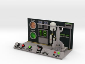 boOpGame Shop - SPACE:2022 Launch Bay in Full Color Sandstone