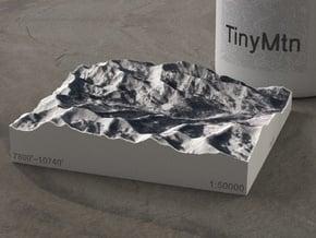Brighton & Solitude, Utah, USA, 1:50000 in Full Color Sandstone
