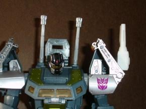 Sunlink - Stronghold Shoulder Cannon x2 TFCon in White Natural Versatile Plastic