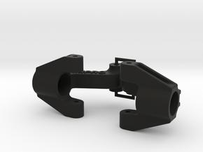 076001-01 Vanquish & Egress Rear Upright Set in Black Natural Versatile Plastic