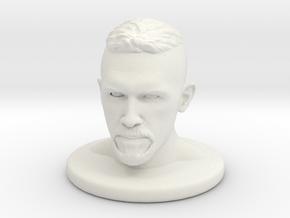 Scott Adkins in White Natural Versatile Plastic: Medium