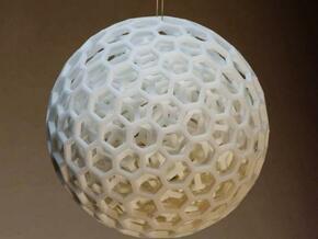 Nested Balls in White Natural Versatile Plastic