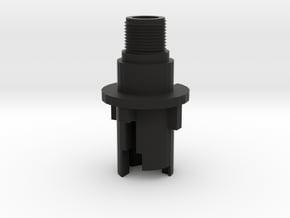 M4 13mm Outer Barrel (14mm-) in Black Natural Versatile Plastic