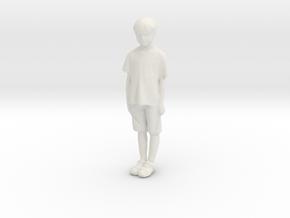 Printle C Kid 197 - 1/22.5 - wob in White Natural Versatile Plastic
