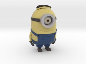 One eyed Minion from Despicable Me (hollow body) in Full Color Sandstone