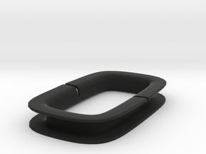 Headphone Wrap 1 in Black Natural Versatile Plastic