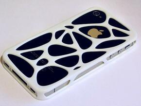 iPhone 4 / 4s case - Cell in White Processed Versatile Plastic