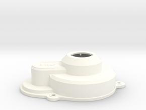 VRC Dyna Storm - E3 - Gear Case Cover in White Processed Versatile Plastic
