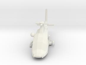 10mm (1/144) Agusta-Westland A109LUH (DAGR,M2,FLIR in White Natural Versatile Plastic