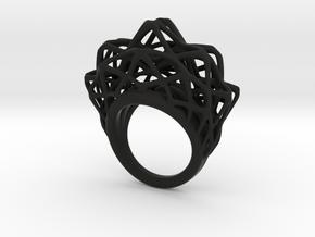 lace_ring_by_parametricart in Black Premium Versatile Plastic