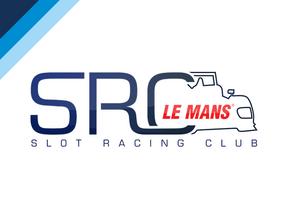 1/32 SRC Le Mans LMP1 Chassis in Blue Processed Versatile Plastic