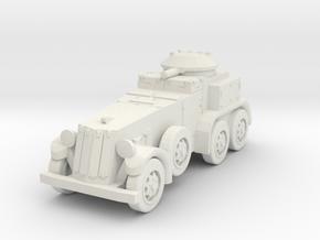 1/144 M1 (T9) armored car in White Natural Versatile Plastic