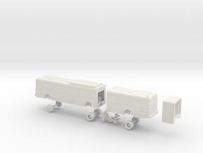 HO Scale Bus NABI 436 RTC 500s in White Natural Versatile Plastic