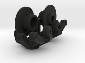 NCYota Double Shear Knuckle and Lockout Combo in Black Natural Versatile Plastic