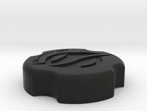 Cover 662-9410 with customer logo-1 in Black Natural Versatile Plastic