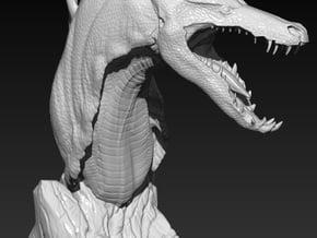 The Tuurasucha - Creature Sculpture in White Natural Versatile Plastic