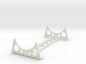 Stand 2 for Small Enzmann Lance Model in White Natural Versatile Plastic
