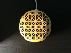 Google Home Mini Cover in Yellow Processed Versatile Plastic