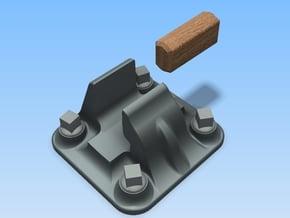 L1 Bridge Chair & Separate Keys - 20 in Smooth Fine Detail Plastic