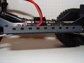 JK Battery Tray Pair in Black Natural Versatile Plastic