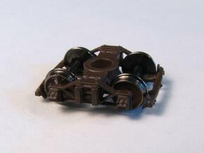 T82p 8 N archbar trucks, Allen/California V&T, pin in Smooth Fine Detail Plastic