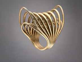 Ring 003 in Natural Bronze