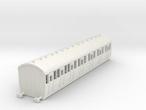 o-148-lner-quad-d71-comp-coach-4 in White Natural Versatile Plastic