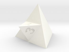 d3 (made from 2d4s) in White Processed Versatile Plastic