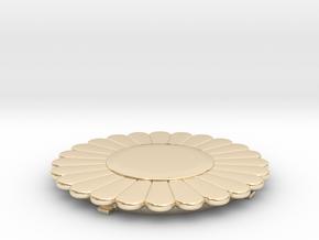 Flower Power SwapTop in 14k Gold Plated Brass