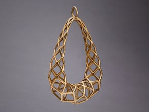 Pendant 003 in Natural Bronze