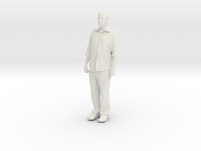 Printle C Homme 197 - 1/32 - wob in White Natural Versatile Plastic