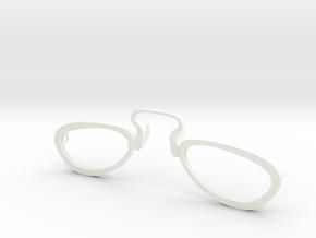 1f3 in White Processed Versatile Plastic