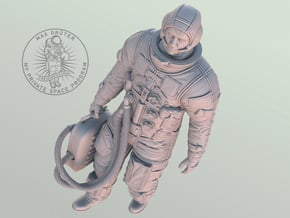 Apollo Astronaut Ready For GO / 1:6 in White Natural Versatile Plastic