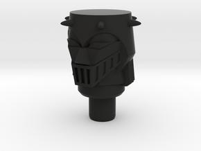 Acroyear II Baron Karza Head in Black Natural Versatile Plastic