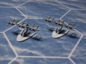 P-38 Lightning in White Natural Versatile Plastic