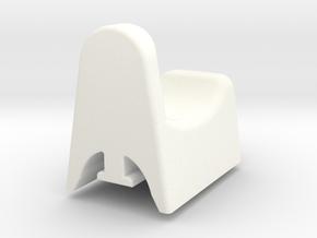 "Donkey/ Buffalo Release ""No button"" in White Processed Versatile Plastic"