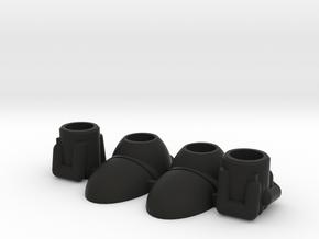 Acroyear II Baron Karza Feet & Hands in Black Natural Versatile Plastic