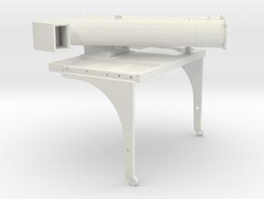 Clutch screw 32er compression combined 2.0  in White Natural Versatile Plastic: Small