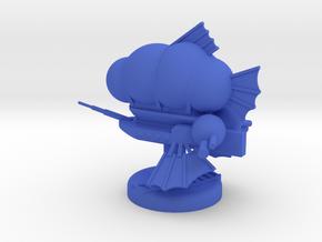 Emperor in Blue Processed Versatile Plastic