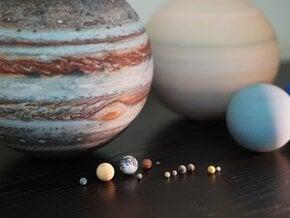 Solar System, 16 set in Full Color Sandstone