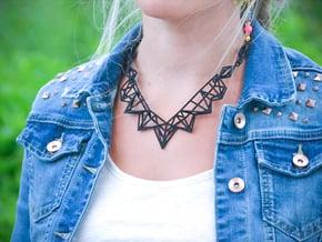 FutureChique Necklace in Black Natural Versatile Plastic