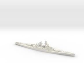 French BB Gascogne in White Natural Versatile Plastic: 1:1800