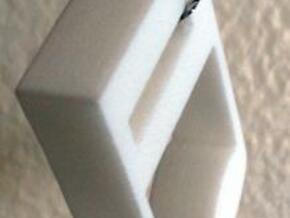 Music Note in White Natural Versatile Plastic