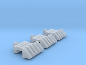 Picatinny_angled_scaled_3x in Smooth Fine Detail Plastic