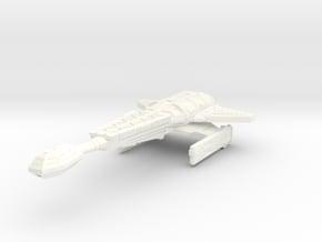 D-14C Stinger Destroyer in White Processed Versatile Plastic