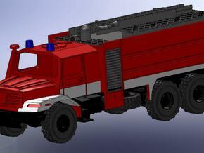 Zetros 6x6 Feuerwehr TFL 1:120 in Smooth Fine Detail Plastic